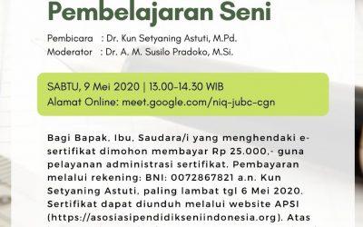 APSI selenggarakan Pelatihan dan Seminar Online di masa pandemi Covid 19